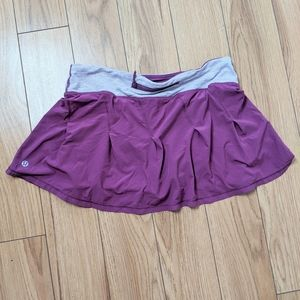 Lululemon - take flight skirt